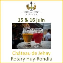 Patrimoine Bières au Château de Jehay